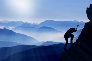 L'ascension jusqu'au sommet c'est une partie du coût du succès